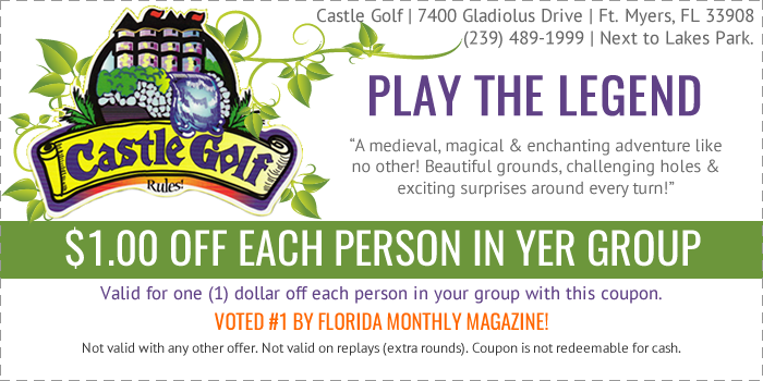 22++ Castle golf coupons information